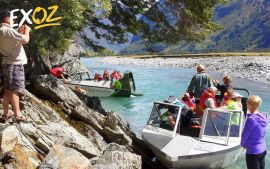 Jetboat and Wilderness Walk - 10% Off